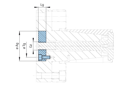 BKDF Baugruppe-Handspannung