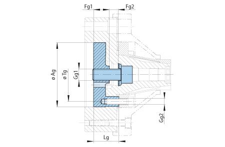HKDF Baugruppe-Handspannung