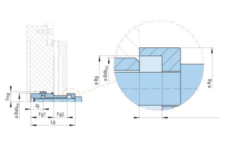 KFDF Baugruppe-Handspannung