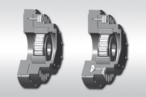 integrated freewheels of the FXR series from RINGSPANN