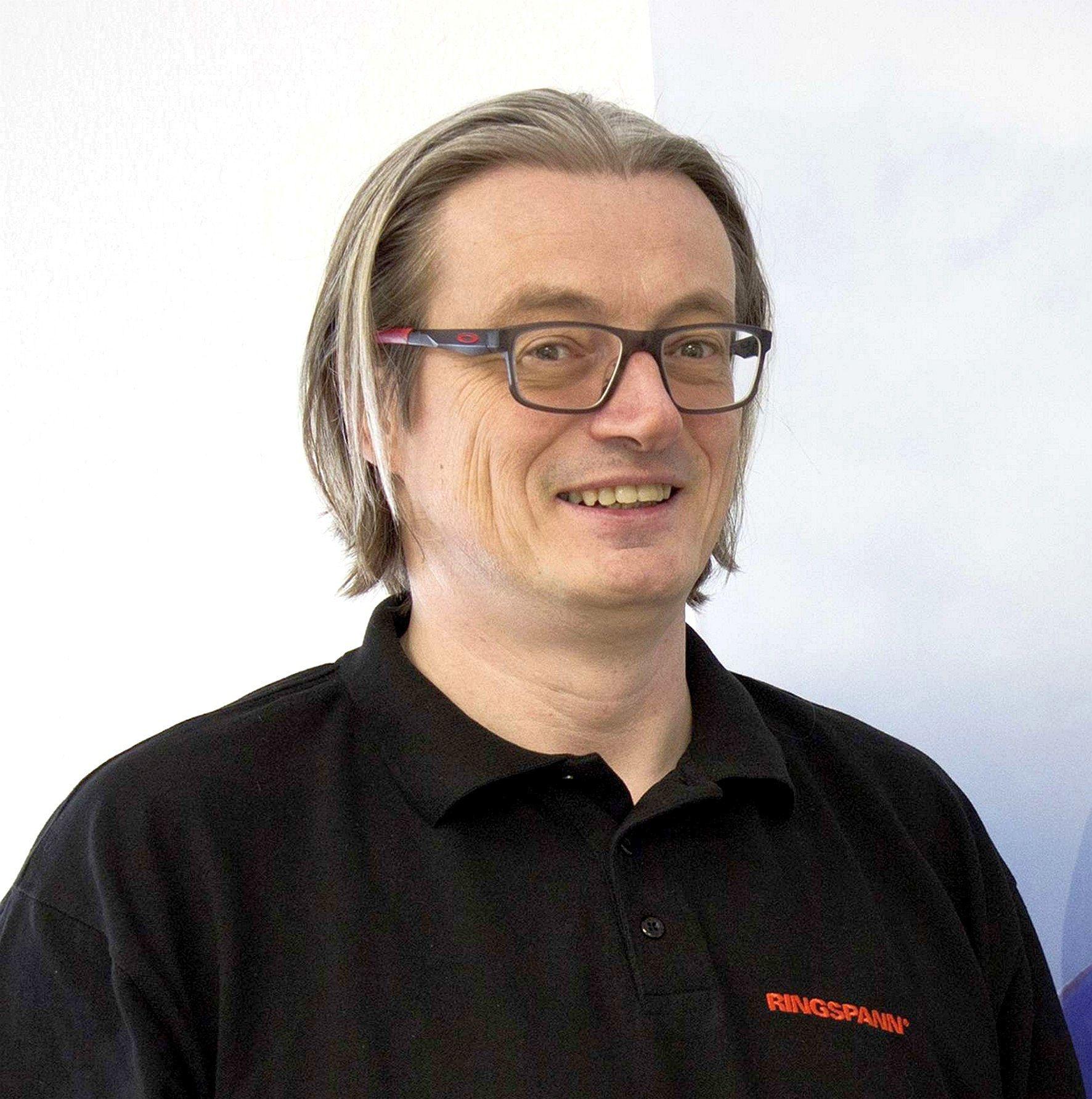 RINGSPANN division manager Thomas Heubach